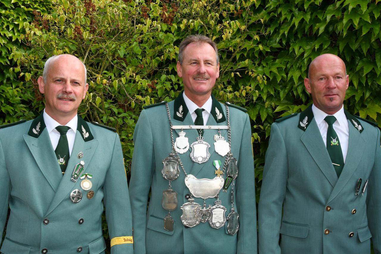 Schützenkönig Helmut Mertens